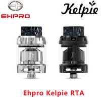 Nuevo tanque de vapeo Ehpro Kelpie RTA 2 ml/3,5 ml de capacidad con cubierta de construcción de doble poste y panal aire de la ranura del Zeus X RTA
