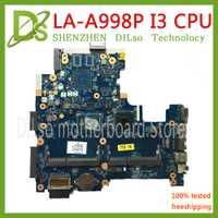 KEFU LA-LA-A998P motherboar 755829-501, 760869-005 para HP 14-R 240 G2 placa base de computadora portátil LA-A998P I3 CPU MB 100% original