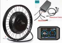 ¡Bluetooth! 72 V 8000 W QS 273 bicicleta eléctrica motor de cubo kit de conversión CON TFT pantalla colorida