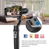 Hohem iSteady móvil 3 eje Handheld Gimbal estabilizador para Gopro sjcam acción Cámara iPhone SamsungPK Suave 4 vimble 2 DJI OSMO