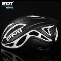 PMT ultraligero se especializan Ciclismo Casco moldeado integralmente de carretera de montaña MTB bicicleta Casco Ciclismo 17 hoyos M L