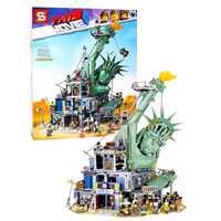 3560PC bienvenue à Apocalypseburg 45014 modèle legoINGlys film 2 blocs de construction Kit briques ensemble noël anniversaire cadeau jouets