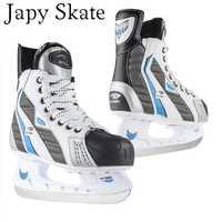 Japy Skate Hockey adulto niño patines de hielo profesionales flores cuchillo de Hockey sobre hielo zapatos patines de hielo Real