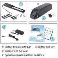 48 V 10.4Ah/13Ah Hailong batería Ebike con LG/Samsung celular baterías de 48 V para Bafang 750 W 1000 W