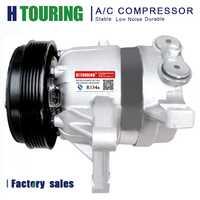Compresor de aire acondicionado A/C para coche Buick Royaum 2004-2005 V5 para compresor de CA 6PK 12 V R134a 138 MM