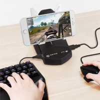 BattleDock teclado y ratón convertidor teléfono móvil portátil USB Gamepad convertidor controlador de juegos para FPS PUBG juegos