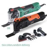 Alguien nuevo Multi-función de la sierra eléctrica renovador herramienta oscilante Trimmer casa renovación herramienta de ajuste de herramientas para trabajar la madera