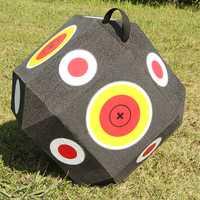 Gran 3D cubo reutilizable de tiro con arco de tiro caza traje de arco compuesto arco recurvo arco de caza objetivos para todas flecha tipos G170