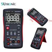 RM409B multímetro Digital de verdadero 9999 cuenta analógico de grafico de barras de tensión amperímetro Ohm Auto de la gama de frecuencia de ciclo de Tempture