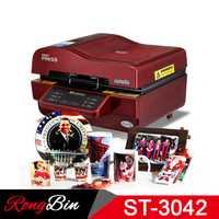 ST-3042 3D prensa de vacío de la máquina de prensa de calor de la impresora de 3D máquina de la prensa del calor de sublimación para los casos tazas platos Vasos