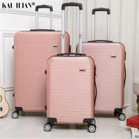 HOT 20/24/28 pouces roulement bagages Sipnner roues ABS + PC femmes valise de voyage hommes mode cabine bagage à main trolley boîte