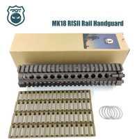 9 pouces CNC MK18 RisII Picatinny Handguard Rail tactique pour Jinming Gen9 J9 boule de Gel d'eau Blaster Airsoft AEG GBB