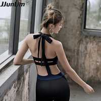 Mujeres los trajes Backless una pieza ropa de deporte Yoga Sets mujer gimnasio ropa deportiva Set mujeres Fitness Legging Ballet danza ropa