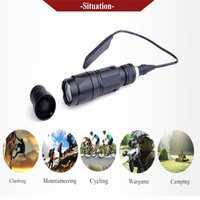 SEIGNEER noche evolución Airsoft militar KWA CRISS Vector luz táctica Softair caza linterna pistola 150m Rango