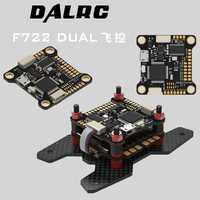 DALRC F722 DUAL STM32F722RGT6 contrôleur de vol intégré OSD BEC 5V 12A F7 contrôle de vol MCU6000 & ICM20602 VS F4