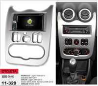 Marco + android6.0 4G coche dvd para Renault logan sandero dacia duster nissan np200 2009 + multimedia ESTÉREO GPS grabador
