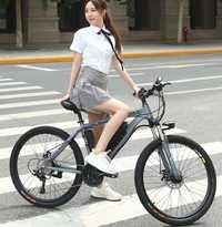 26 pulgadas 27 velocidades bicicleta eléctrica 36 V 10Ah batería de litio bicicleta de montaña 250 W Motor EBike potente bicicleta eléctrica