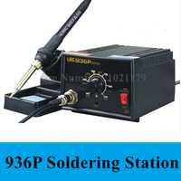 Nuevo 936 anti-estática ajustable termostato 110 V/220 V eléctrica de hierro de soldadura Estación de soldadura de hierro envío gratuito