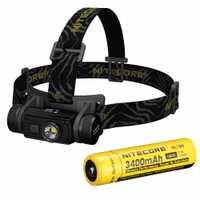 Nitecore HC60 faro CREE XM-L2 U2 1000 Lumen linterna impermeable de la linterna para acampar viajes