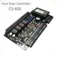 ZK C3-400 TCP/IP Rfid Sistema de Control de Acceso Seguridad de cuatro puertas controlador de acceso basado en IP Panel de Control de acceso de cuatro puertas