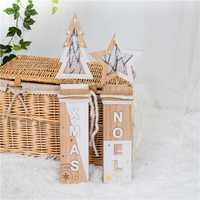 Decoraciones de Navidad noel estrella árbol aire festivo Navidad kid juguetes regalo hogar