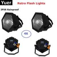 LED Par 200 W blanco cálido blanco frío luces de escenario LED Par luces con DMX512 para Disco de Dj láser proyector máquina de luces de fiesta
