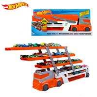 Pesados vehículos de transporte 6 capa coche pequeño juguete almacenamiento escalable de camión transportador de niño juguete educativo