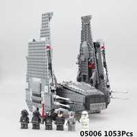Educativos Star Wars 05006 Legoing Star Wars Kylo Ren mando StarWars Legoing estrella juguetes de guerra arma 75104 bloques de construcción de Juguetes regalos