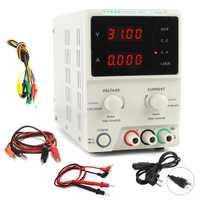 KD3005D laboratorio de fuente de alimentación ajustable de alta precisión de 4 dígitos pantalla 30 V 5A regulador DC fuente de alimentación portátil reparación