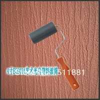 4 ''bark pintura patrón presionando rodillo envío libre 100mm canturrea plástico liso rodillo recubrimiento elástico textura de la pintura herramientas
