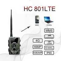 HC300M HC550M HC700G HC801LTE 4G caméra de chasse 12MP 940nm Vision nocturne MMS GPRS pièges photo caméra de sentier chasseur Cam livraison directe
