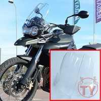 Moto pour TRIUMPH TIGER800XC 800XC TIGER 800 XC pare-brise bulle pare-brise fumée noir clair acrylique vent déflectore