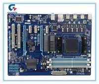 Gigabyte original placa madre Gigaby GA-970A-DS3 DDR3 hembra AM3 + 970A-DS3 USB3.0 32 GB placa base de escritorio envío gratis
