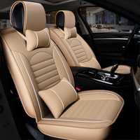 Housse de siège auto en cuir synthétique polyuréthane universelle pour rch feuille pulsar 350z 370z gt r juke dualis x trail murano pathfinder note