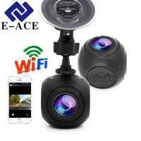 E-ACE oculta Mini Wifi coche DVR Full HD 1080 p rociada del coche de la cámara de vídeo registrador de videocámara cámara de vídeo Digital grabadora