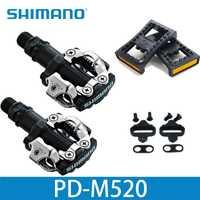 Shimano PD M520 Clipless SPD Pédales VTT Vélo Racing Vtt Pièces PD-M520
