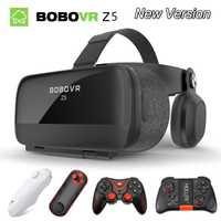 BOBOVR Z5 3D gafas VR caja gafas de realidad Virtual gafas de cartón de google bobo vr para 4,7-6,2 pulgadas smartphone