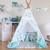Tienda de campaña para niños casa plegable Tipi niños Tipi Príncipe princesa castillo interior niños jugar casa regalo de cumpleaños
