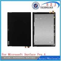 Nouveau pour Microsoft Surface Pro 4 Pro4 V1.0 1724 LTN123YL01-001 V1.0 écran lcd avec écran tactile panneau assemblage livraison gratuite