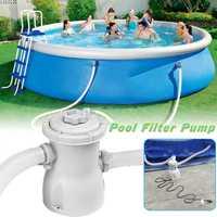 300 gal 220 V eléctrica piscina filtro de la bomba para piscinas elevadas limpieza herramienta Reino Unido