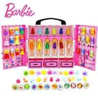 SIMCASTLE Original 6 muñecas/Set Mini cumpleaños Serie s con vestido de las Niñas Ropa de Boneca brinquedos juguetes para los niños
