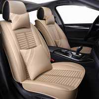 Nuevo cuero Universal auto asiento cubre para todos los modelos de Lexus gx470 nx lx470 ES RX GX GTH LX Coche accesorios car styling sticker