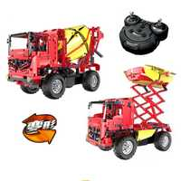 Serie Technic teledirigido RC ingeniería camión mezclador construcción serie Technic Compatible con Legoingly