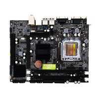 Alta compatibilidad G31 computadora placa base LGA 775 4 GB 2 * DDR2 PC de escritorio placa base 4 * SATA2.0 216*168mm