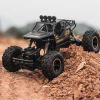 Adulto chico juguetes 1:16 4 canales 4WD 2,4G de alta velocidad tipo de arma control remoto RC subir- país coche jeep regalo de los niños