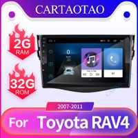 Android 8,1 reproductor de DVD del coche para Toyota RAV 4 2007, 2008, 2009, 2010, 2011 2 din auto radio multimedia GPS navegación wifi player