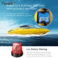 RC barco lancha RC Super velocidad alta velocidad 2,4 GHz 25 km/h sistema de enfriamiento de agua Motor sin escobillas buscador de los pescados submarin