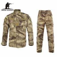 Multicam negro Militar Uniforme traje de camuflaje de Tatico táctico camuflaje militar Airsoft Paintball equipo ropa