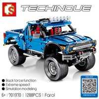 Sembo 701970 Compatible con Legoing nueva técnica de la serie F-150 Raptor Pickup modelo bloques de construcción Conjunto Clásico técnica serie