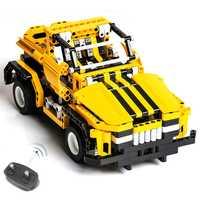 423 piezas 2in1 transformar coche DIY ensamble RC Car Building Blocks Technic Series el RC pista de carreras conjunto de carreras para niños niña Niño